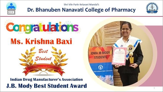 Dr  Bhanuben Nanavati College of Pharmacy